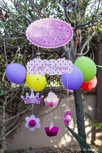 Πάρτυ γενεθλίων για μικρές πριγκίπισσες.