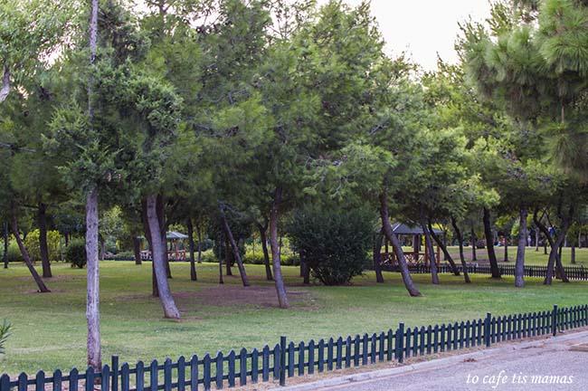 'Ενα απόγευμα στο Πάρκο Φλοίσβος στο Παλαιό Φάληρο.