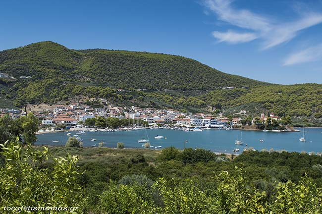 Το χωριό Επίδαυρος.