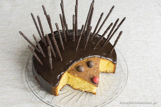 Kέικ σκαντζόχοιρος!