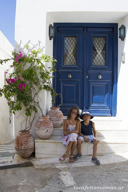 Οικογενειακές διακοπές στα Κύθηρα.